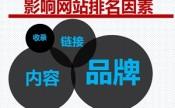 影响网站seo优化排名的主要因素